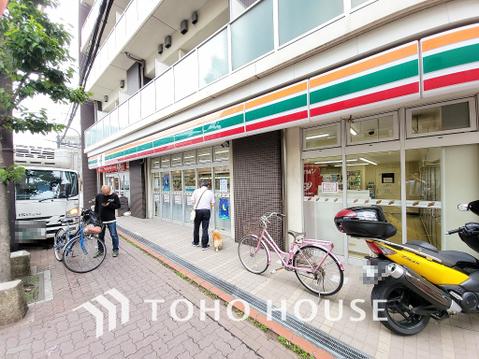 セブンイレブン 大田区美原通り店 距離300m