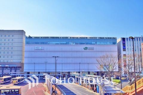 東海道本線・鶴見線「鶴見」駅 距離1500m