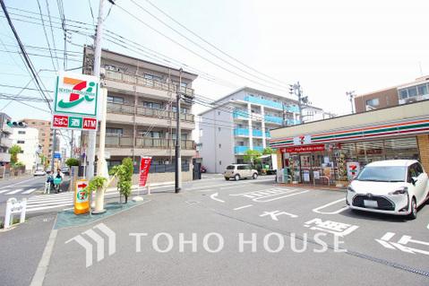 セブンイレブン 大田区矢口2丁目店 距離650m