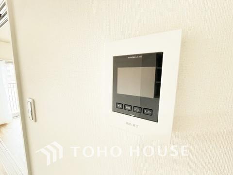 TVモニター付きインターホンで安心のセキュリティ