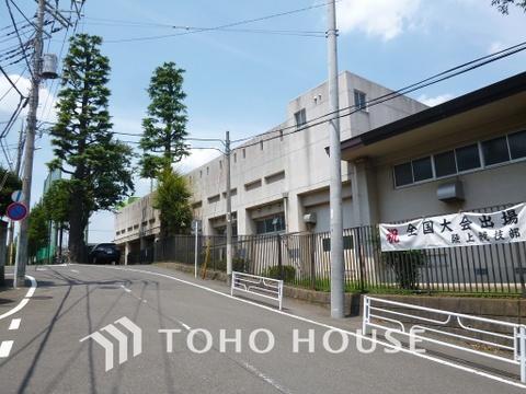 横浜市立田奈中学校 距離750m