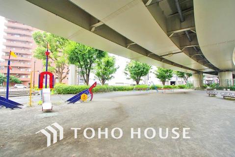 阪東橋公園 距離150m
