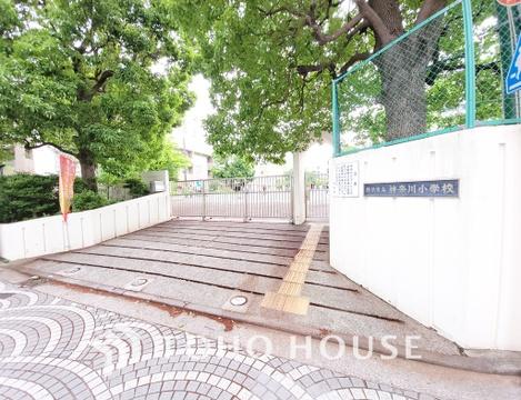 横浜市立神奈川小学校 距離650m