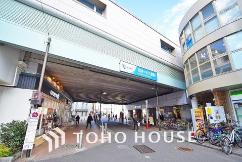 小田急線「祖師ヶ谷大蔵」駅 距離640m