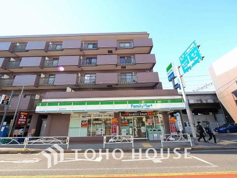 ファミリーマート 砧城山通り店 距離850m