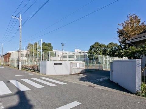 日野市立三沢中学校 距離約1500m