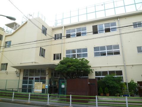 矢口西小学校(現地より約400m)