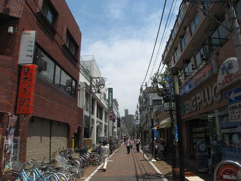 平間銀座商店街約50m