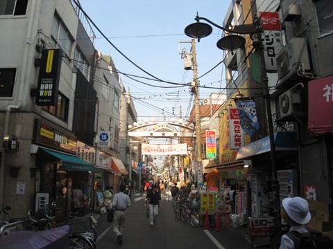 新丸子駅前商店街約250m徒歩4分