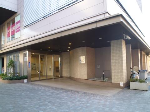 横浜ヘリオスタワー エントランス