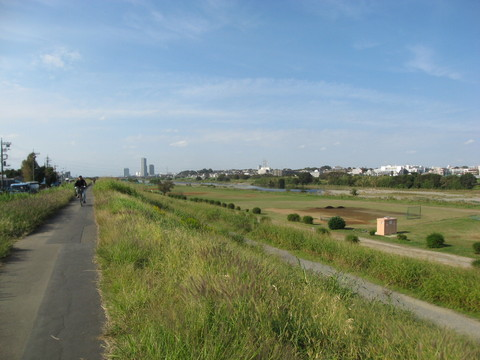 多摩川緑地 徒歩5分(約380m)