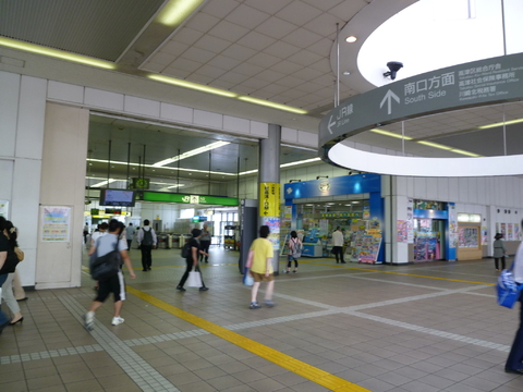 南武線 武蔵溝ノ口駅