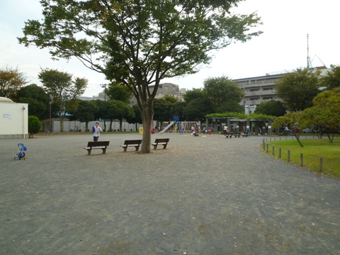 岡野公園 約500m