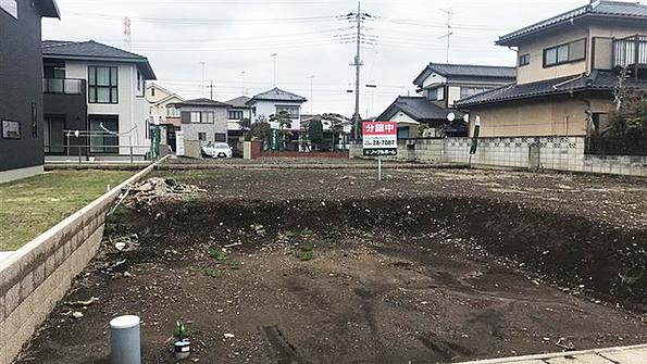 筑西市菅谷 4区画