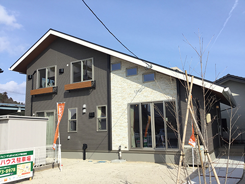 フェニーチェガーデン福島松山町《建築条件付宅地》